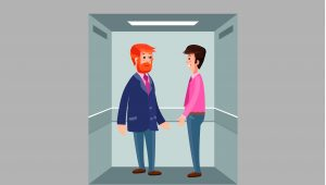 Infographic elevator pitch